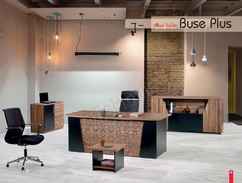 Buse Plus (Ceviz - Siyah)