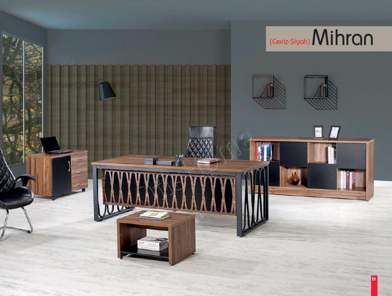 Mihran (Ceviz - Siyah)