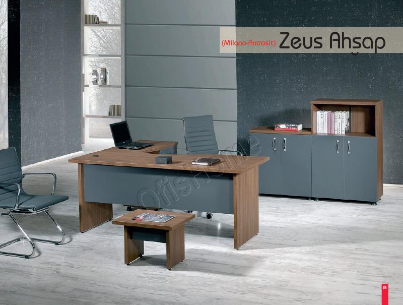 Zeus Ahşap (Milano - Antrasit)